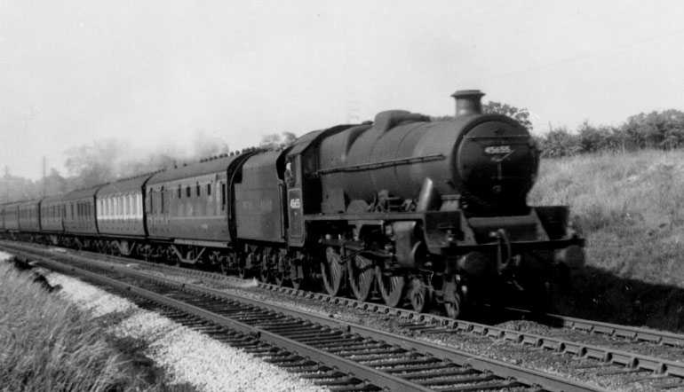 45655 Keith at Handforth in 1949