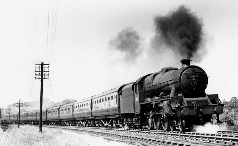 45657 Tyrwhitt at Heaton Mersey on 13 June 1949