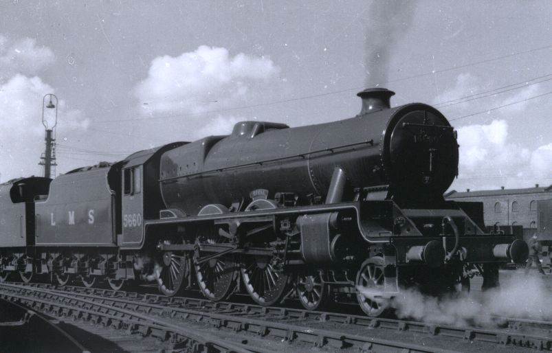 5660 Rooke at Crewe North on 15 August 1937