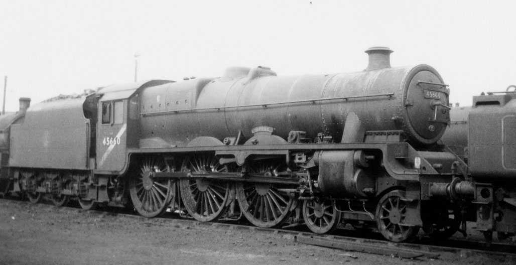 45660 Rooke at Holbeck MPD in March 1965