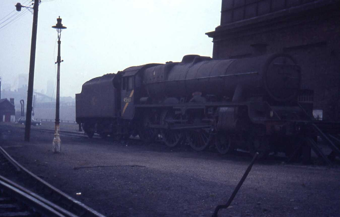 45661 Vernon at Hasland shed