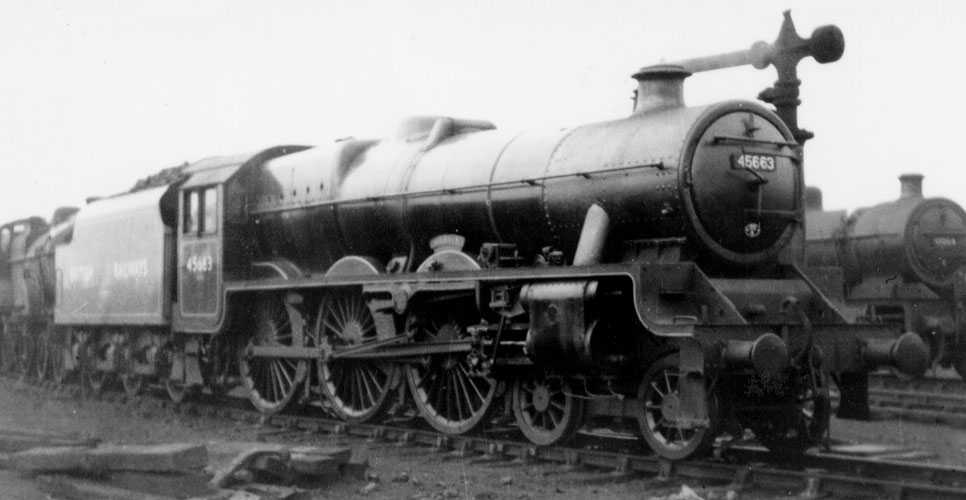 45663 Jervis at Bristol in 1949