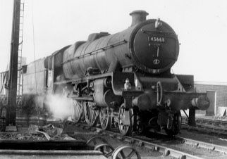 45663 Jervis in Patricroft South Yard