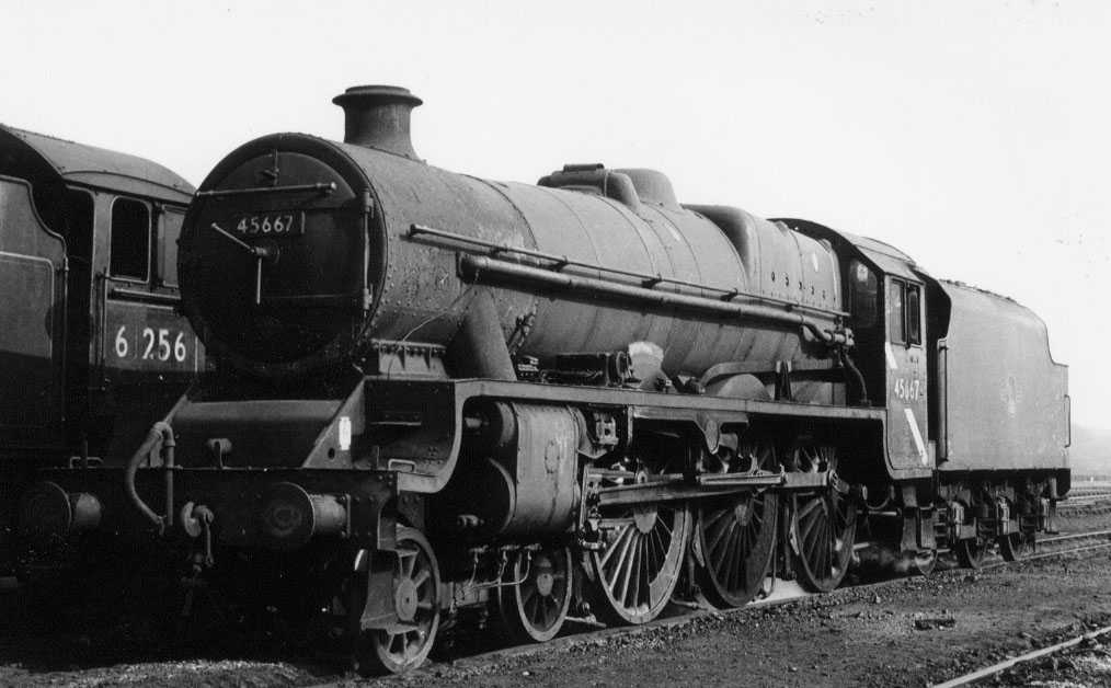 45667 Jellicoe at York