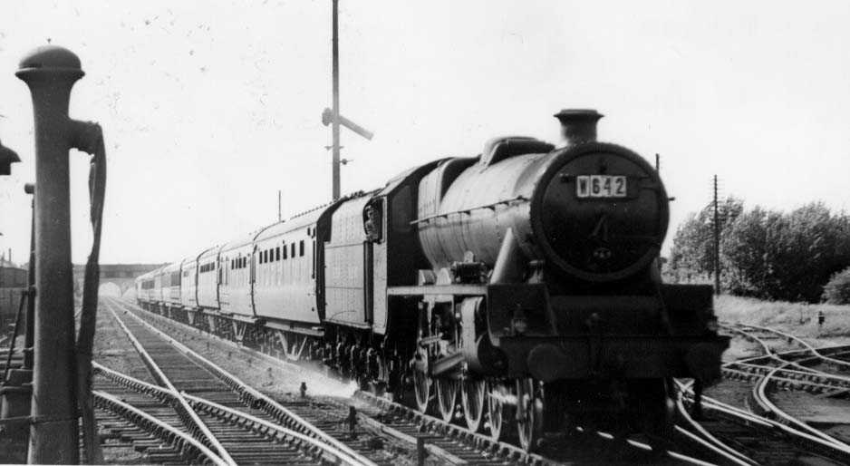 45569 Fisher at Blisworth on 16 June 1951