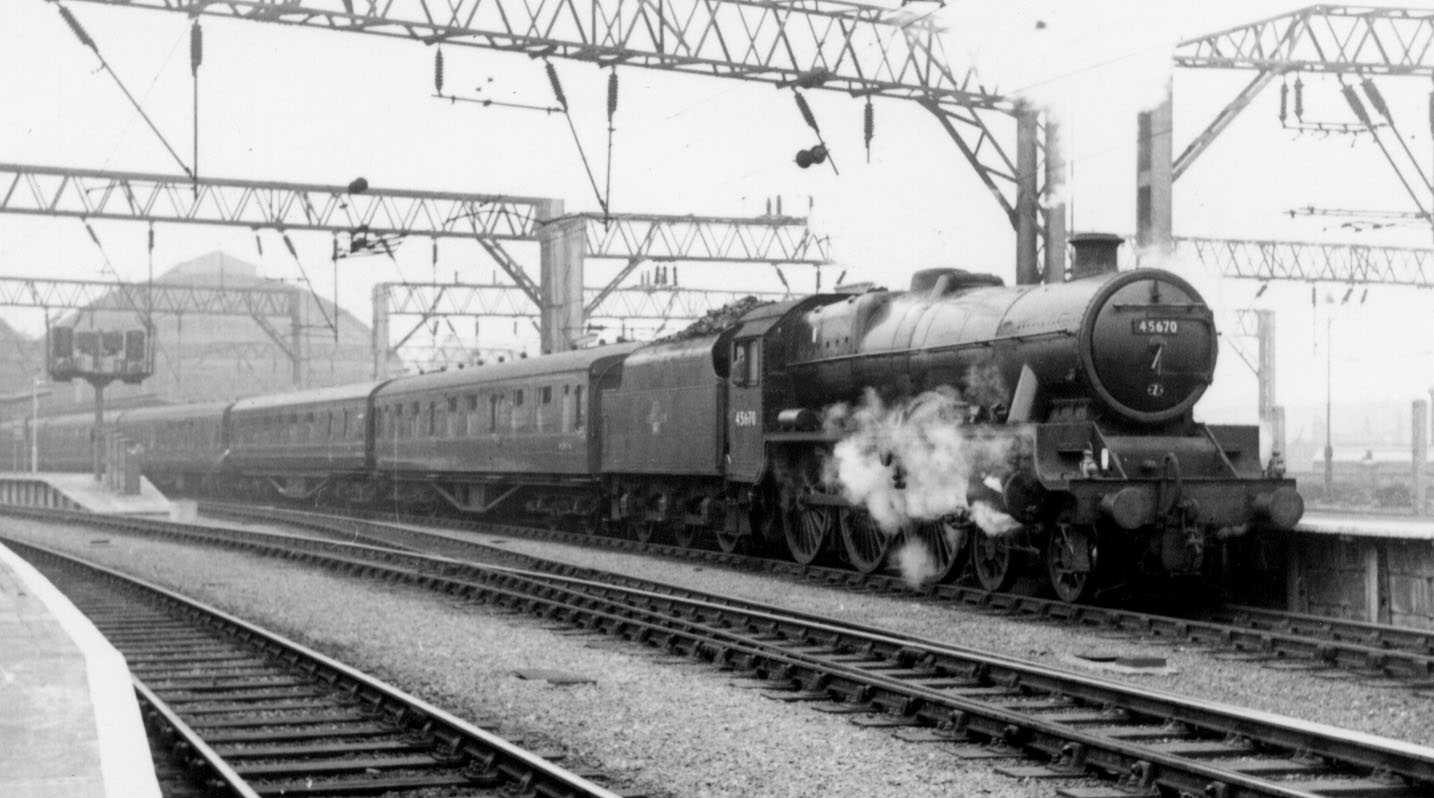 45670 Howard of Effingham at Manchester Piccadilly on 4 May 1962