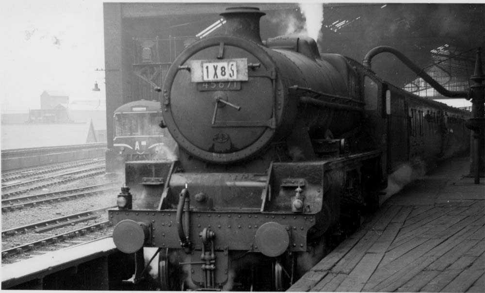 45671 Prince Rupert at Leeds City