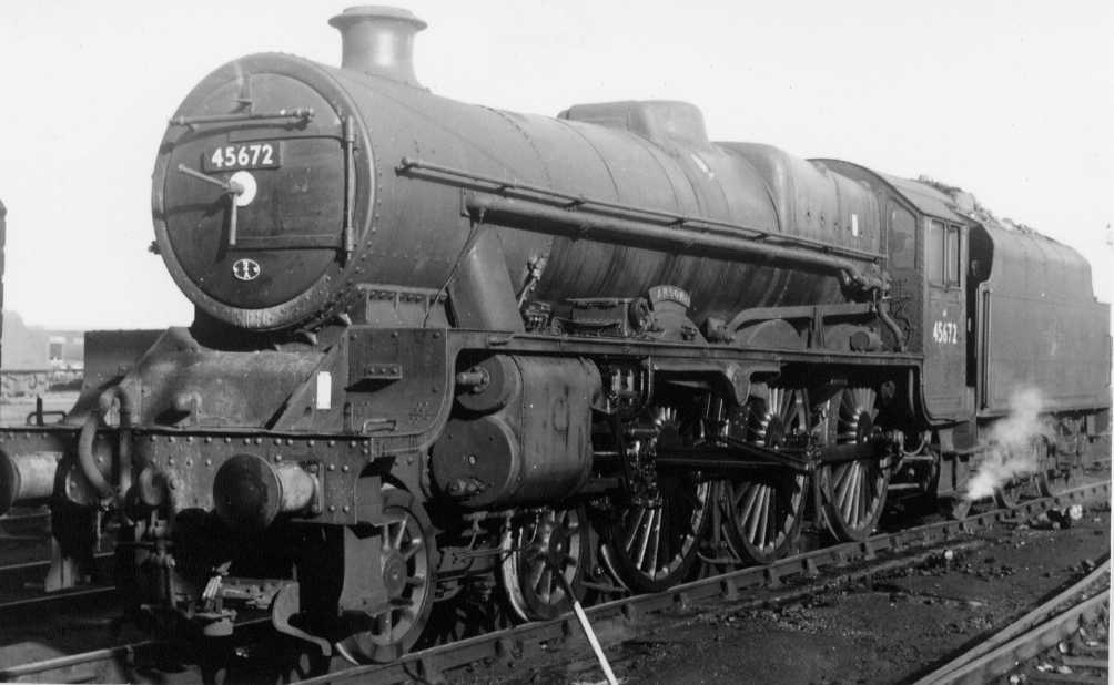 45672 Anson at Rugby, 30 September 1962