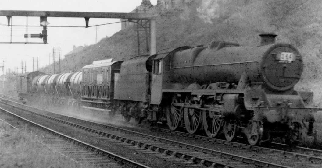 5674 prior to naming, at Hest Bank in 1936