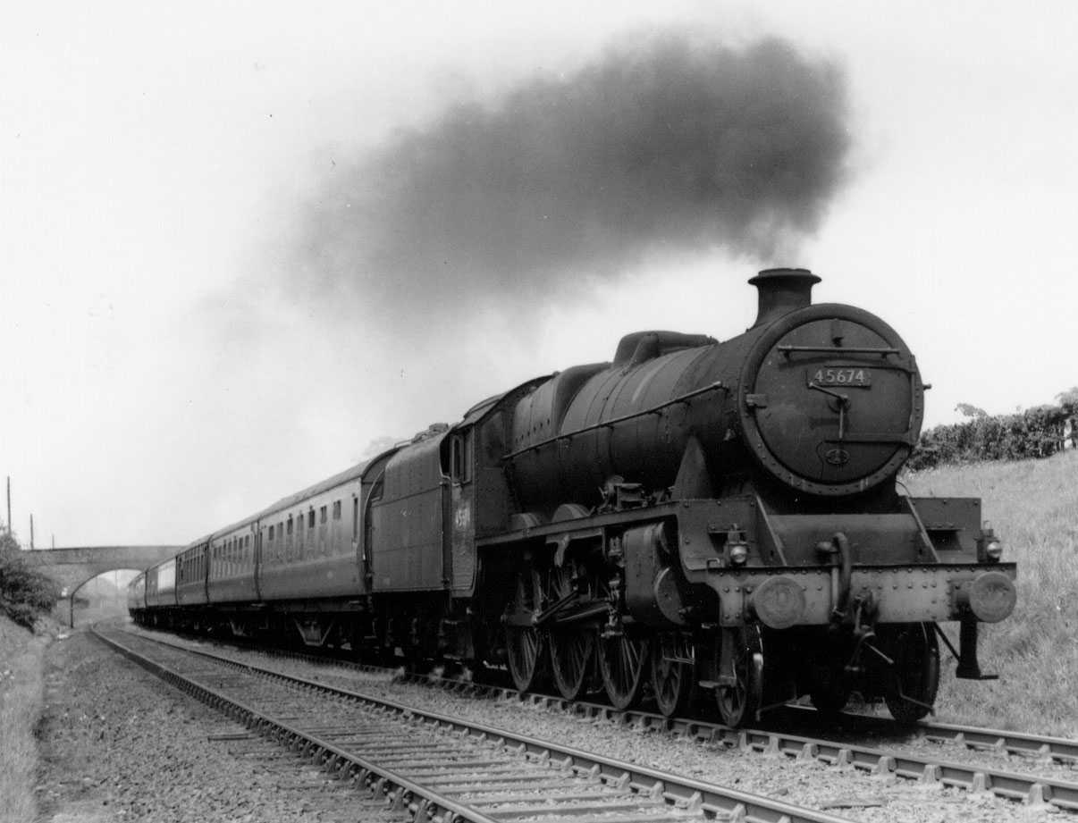 45674 Duncan near Cheadle Hulme on 3 June 1951