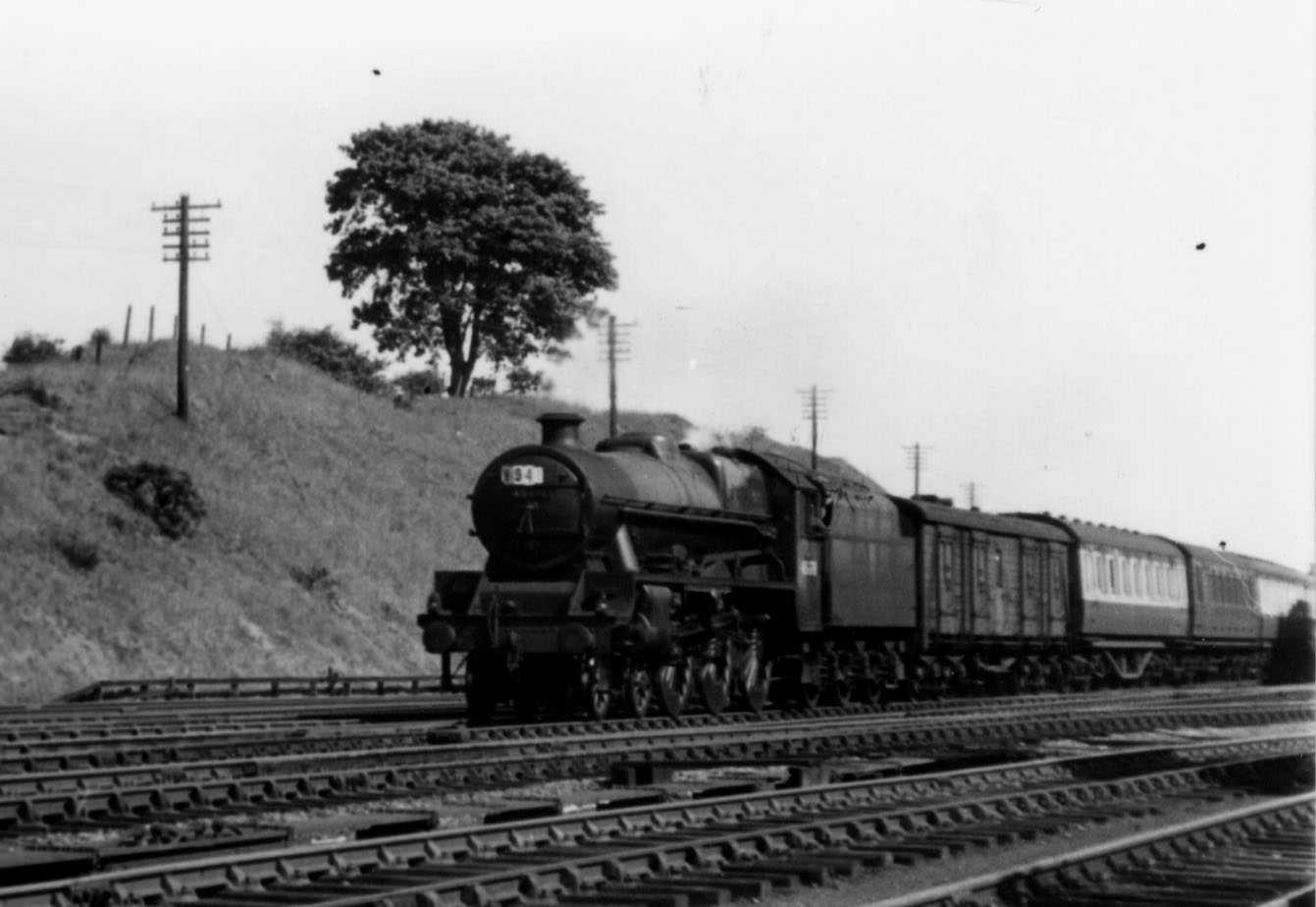 45678 De Robeck at Rugeley on 2 June 1955