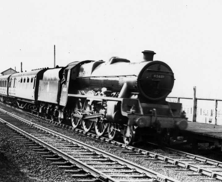 45681 Aboukir at Milford & Brocton, April 1952