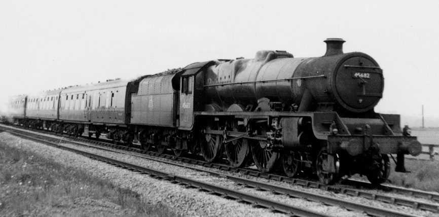 45682 Trafalgar at Pontefract in 1958