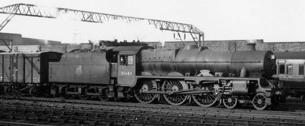 45684 Jutland at Crewe