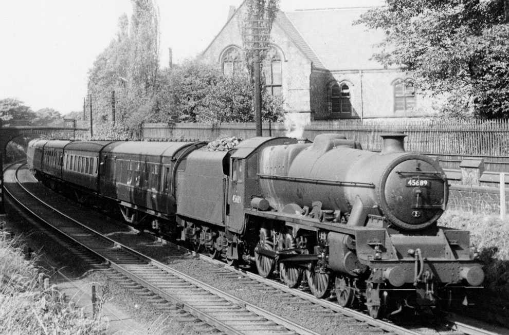 45689 Ajax at Lancaster, 12 September 1959