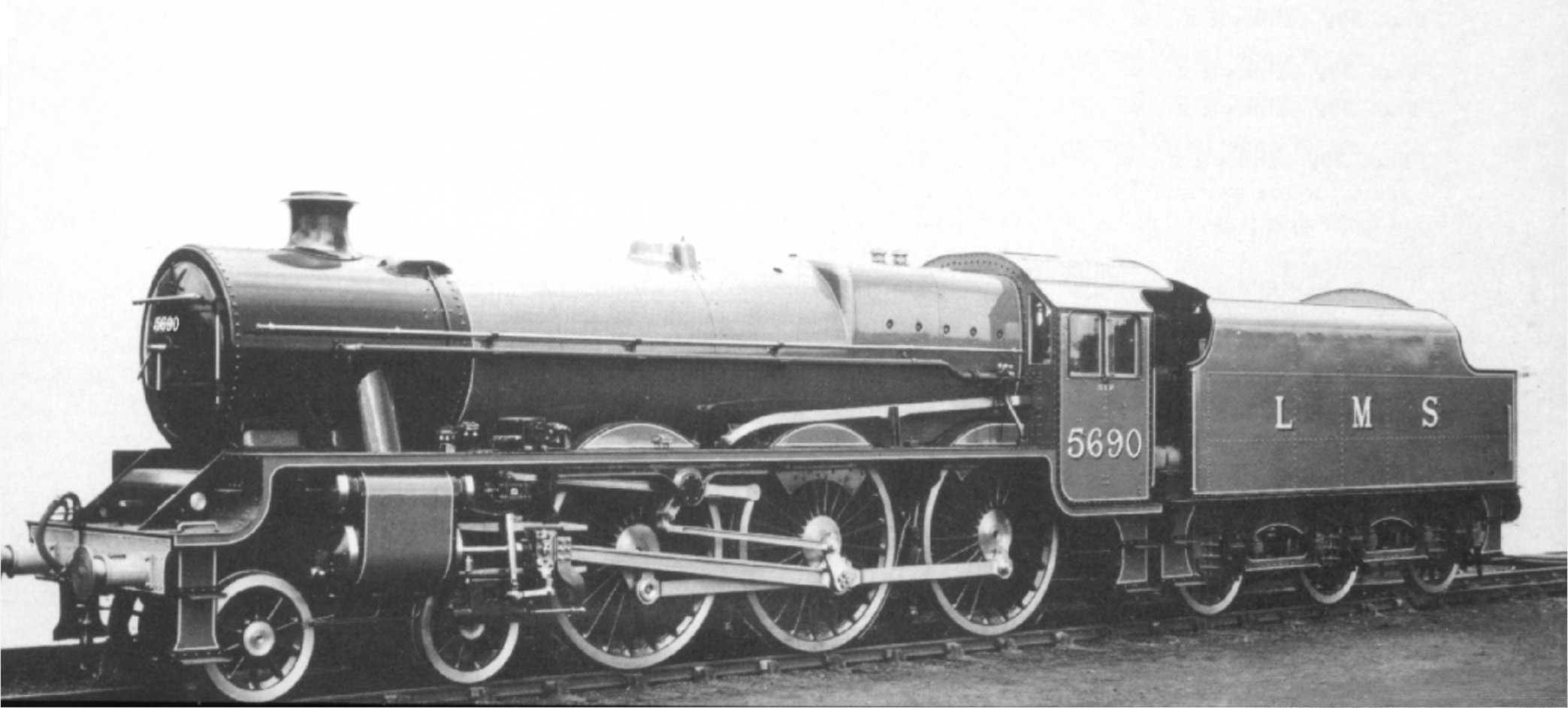5690 LMS publicity shot, prior to naming