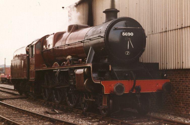 5690 Leander at Birmingham Railway Museum, Tyseley