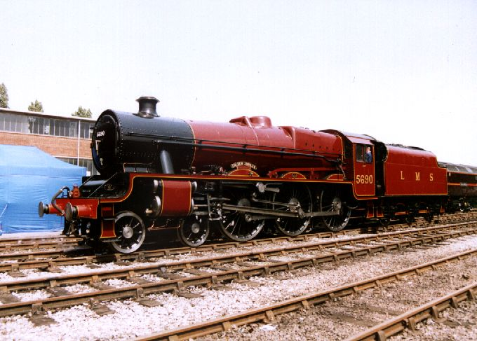 5690 Leander at Crewe Works Open Day, 1 June 2003