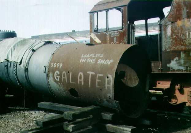 45699 Galatea awaiting restoration at Tyseley, 21 May 2000