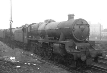 45702 Colossus taken at Newton Heath shed on 26 February 1963
