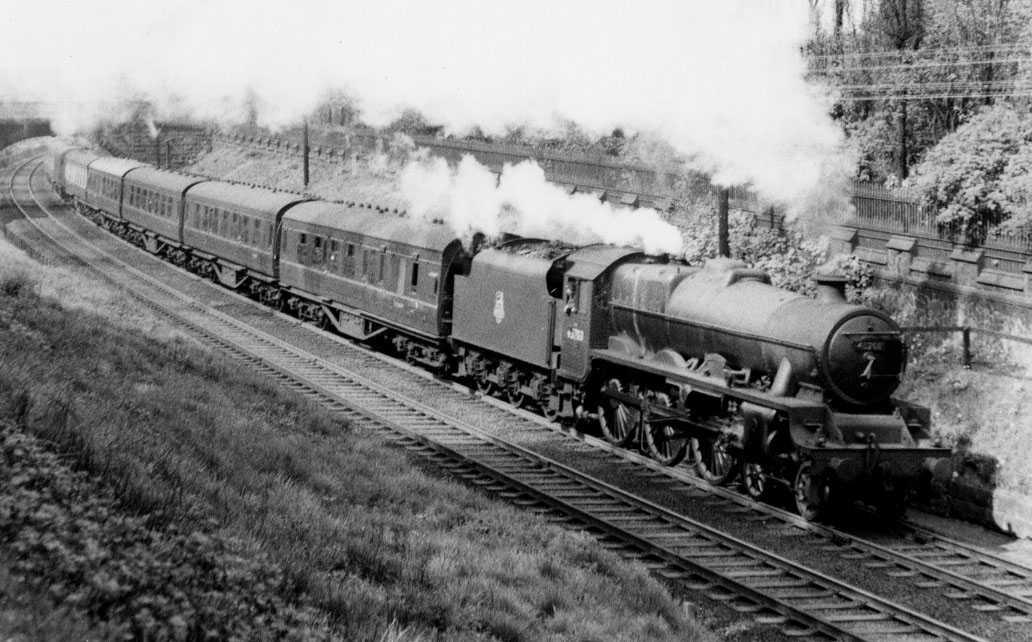 45703 Thunderer at Lancaster, 3 May 1958