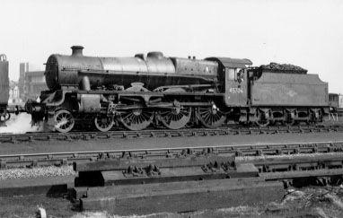 45704 Leviathan at Willesden