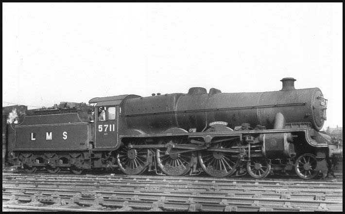 5711 Courageous prior to renumbering, at Newton Heath on 1 June 1948
