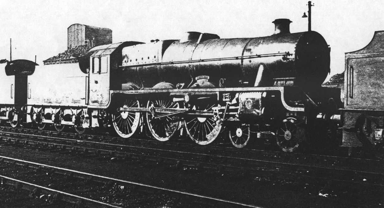45714 Revenge at Kingmoor in 1948