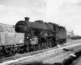 45716 Swiftsure near Agecroft Colliery