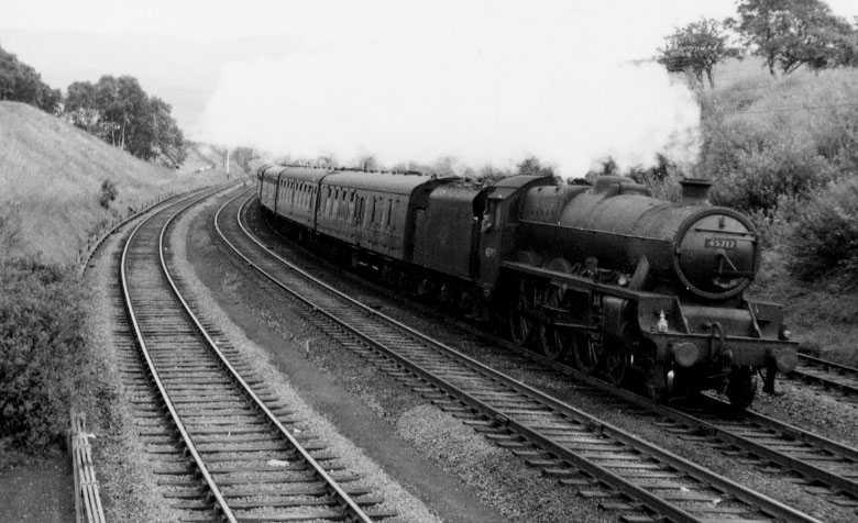 45717 Dauntless near Huddersfield