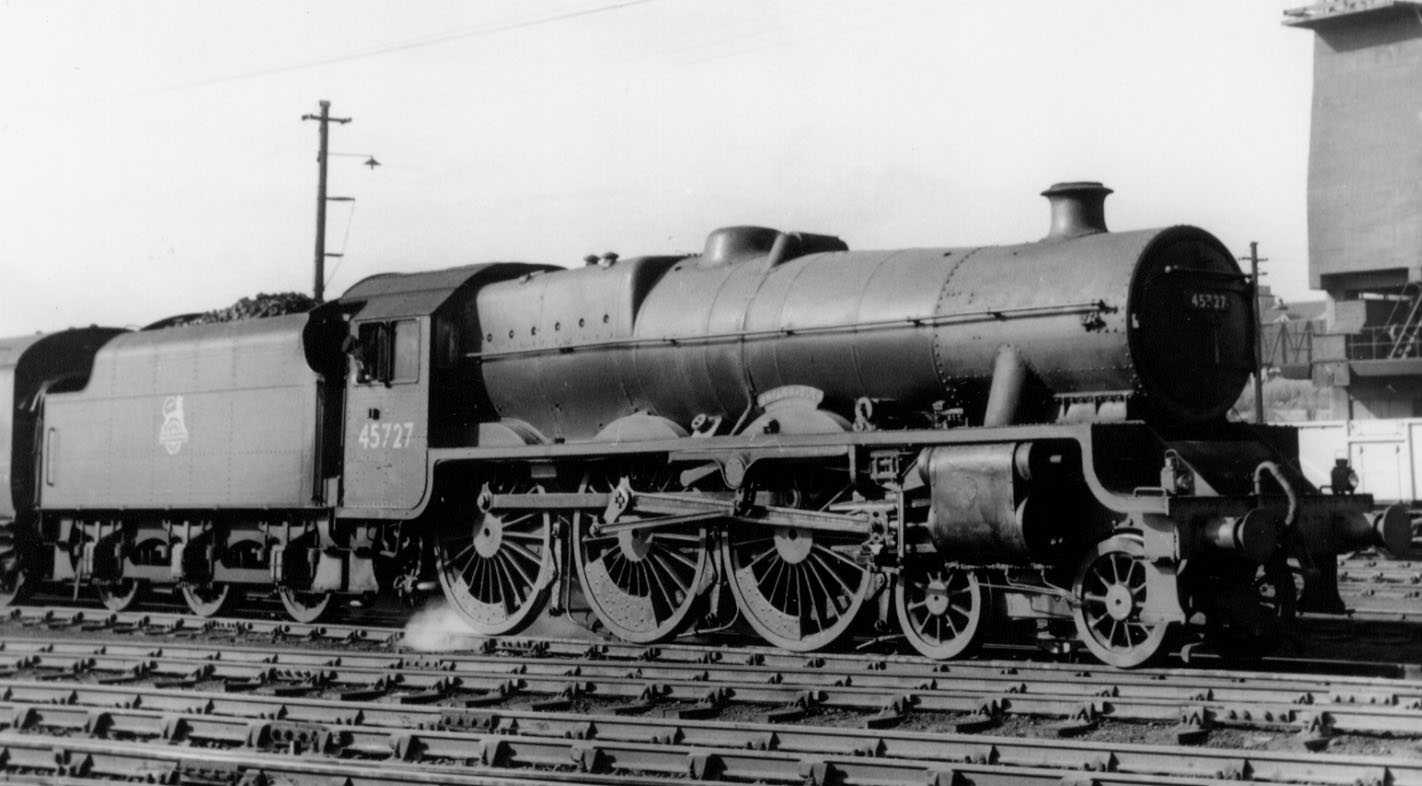 45727 Inflexible at Carlisle Kingmoor on 19 September 1959 (date unconfirmed)