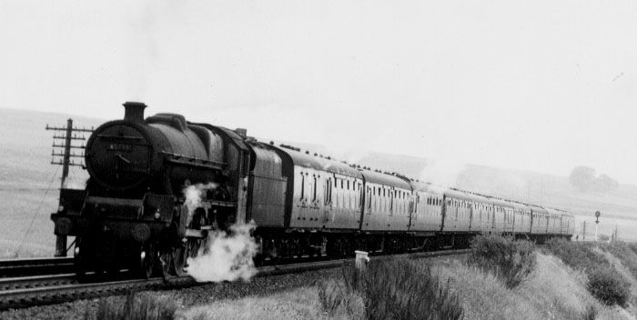 45734 Meteor at Shap in 1960