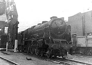 45736 Phoenix at Camden Depot in 1961