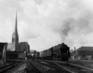 45736 Phoenix passing Preston MPD, 27 August 1962