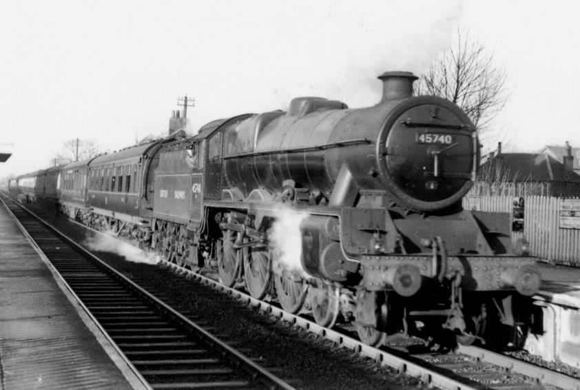 45740 Munster at Bramhall, 24 December 1949