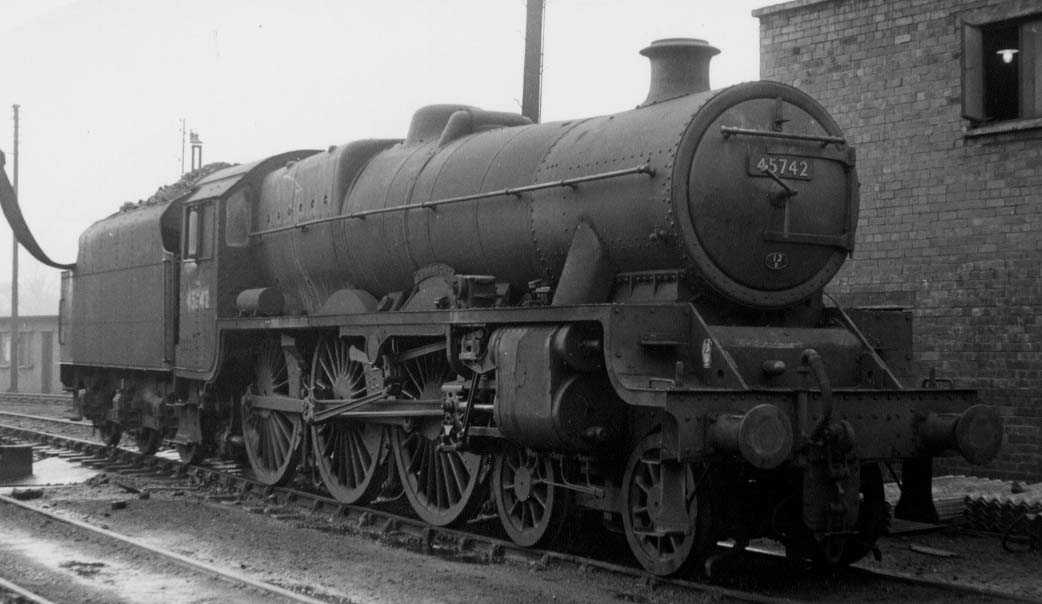 45742 Connaught at Polmadie on 31 March 1961