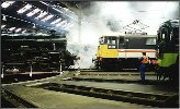 45593 Kolhapur at Barrow Hill Roundhouse