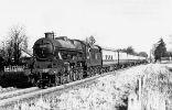 45680 Camperdown at Cheadle Hulme, 29 November 1953